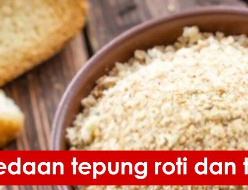 Perbedaan tepung roti dan tepung panir
