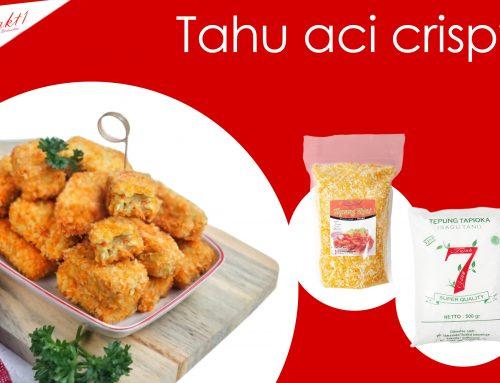 resep Tahu crispy tepung tapioka 7 daun & tepung roti sakti