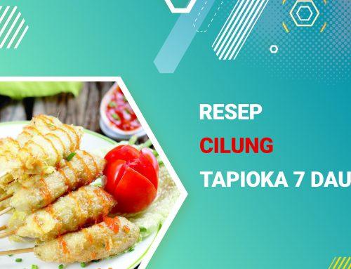 Resep Cilung Tepung Tapioka