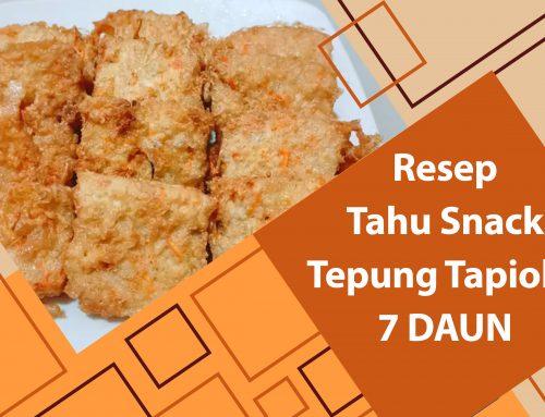 Resep Tahu Snack