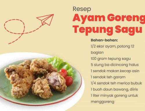 Resep Ayam Goreng Tepung Sagu