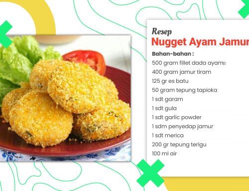 Resep Nugget Ayam Jamur Tepung Panir