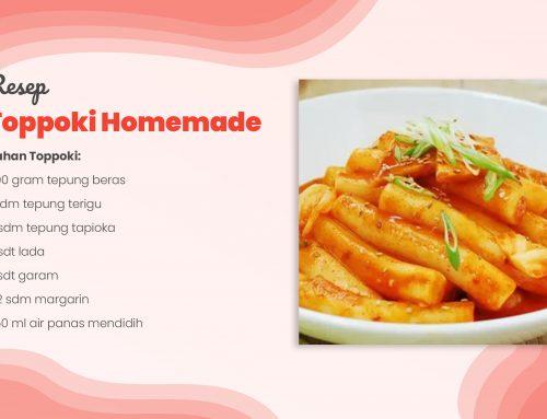 Resep Toppoki Homemade Tepung Tapioka